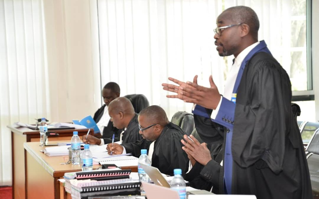 Court Hearing on the Burundi Case Appeal